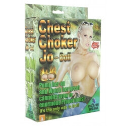 INFLATABLE DOLL CHEST CHOKER JO DOLL""