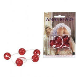 ANAL BEADS CLEAR ANAL BEADS LARGE