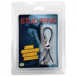 PENIS RING STUD RING BLACK""