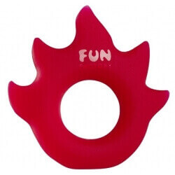 RING PHALLIC FUN FACTORY 'FLAME' - RED