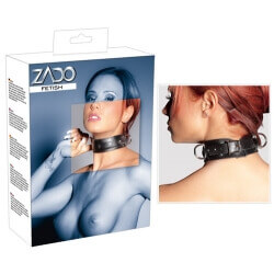 Collar in leather ZADO