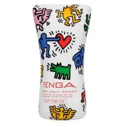 Masturbatore Tenga Keith Haring Soft Tube Cup