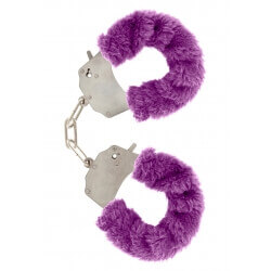 Handcuffs plush purple,games, erotic