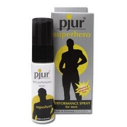 SPRAY LUBRICANT/STIMULATING PJUR 'SUPERHERO' - 20 ML