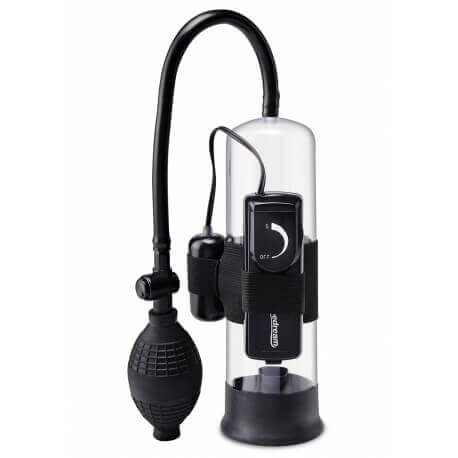 The pump Develops the Penis PW BEGINNERS VIBRATING PUMP