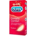 CONDOMS DUREX 'CONTACT COMFORT', 6 PIECES
