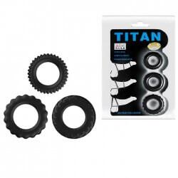 Kit ring Titan Cock Ring blue