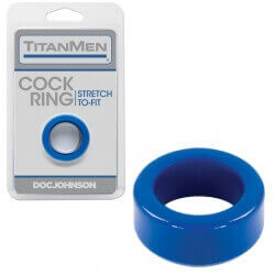 TITANMEN COCKRING BLU 45 MM