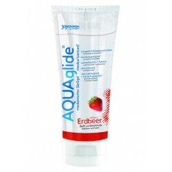 Lubrificante Justglide Aquaglide Strawberry - 100 ml