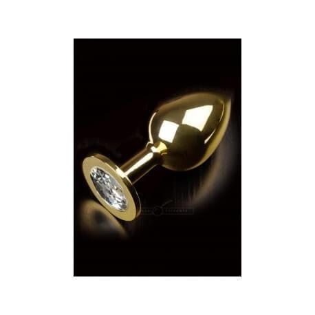 Plug anal gold large 9cm