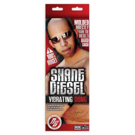 Vibrator Super realistic Shane Diesel 25 cm