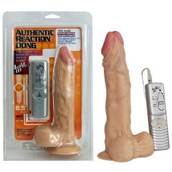 VIBRATOR REALISTIC 'AUTHENTIC REACTION DONG