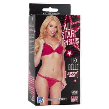 Masturbator Realistic All-Star Porn Stars Lexy Belle Pussy Vagina