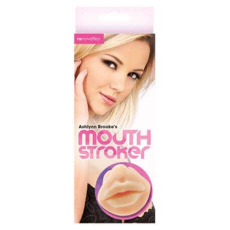 Masturbator Realistic Mouth Stroker Ashlynn Brook Mouth