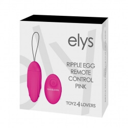 Ovetto Vibrante Elys Ripple Egg Remote Control Wireless