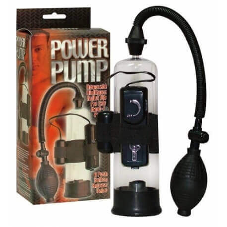 PUMP FOR THE PENIS POWER PUMP