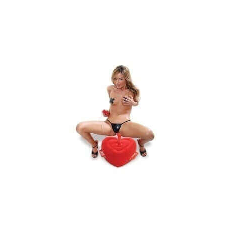 LOVE CUSHION INFLATABLE LOVER'S HOT SEAT