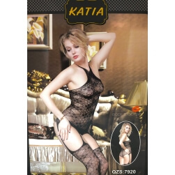 Bodystocking Black Stockings one size