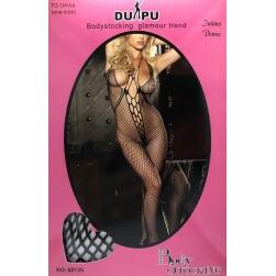 Sexy Catsuit Mesh Du-Pu