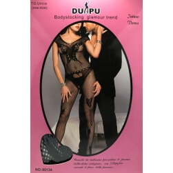 SUIT INTIMATE SEXY FULL BLACK MESH ONE SIZE