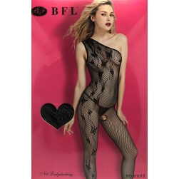 SUIT SEXY CATSUIT ONE SHOULDER ONE SIZE
