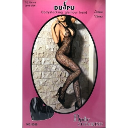 Catsuit Bodystocking-Black Spider web
