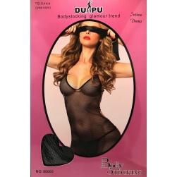 Woman's Intimate Du-Pu Body Art