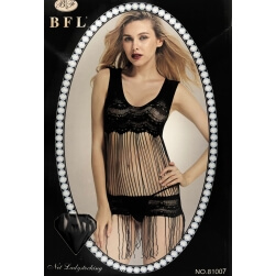 COMPLETE BABYDOLL BLACK ONE SIZE