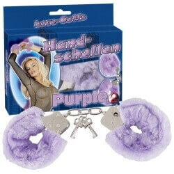 HANDCUFFS PURPLE