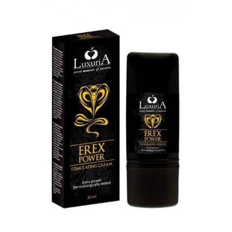 CREMA STIMOLANTE LUXURIA EREX POWER GEL - 30 ML