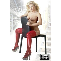 BOOT LATEX BED BOOTS RED